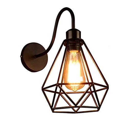 Industrielle Wandleuchte, Vintage-Retro-LED, für Innenräume, Bett, Esszimmer, Lounge