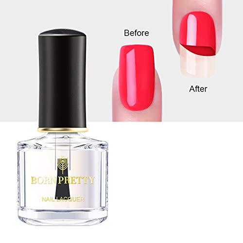 BORN PRETTY 6ml Peel Off Base Coat Nail Polish Odorless Nail Art Varnish Manicure Care