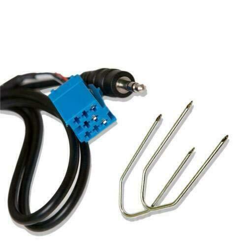 Blaupunkt aux in adaptateur interface d'entrée pour iPod MP3 AUX radio stéréo et clés