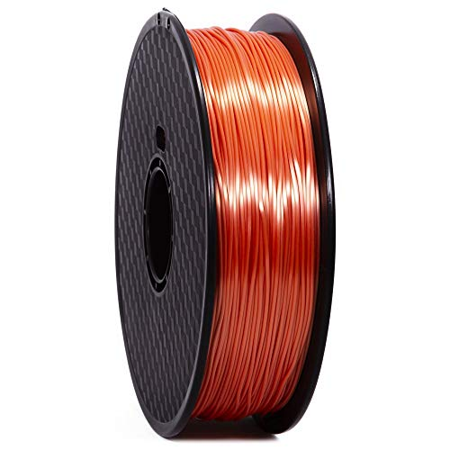 WANHAO Filament: PLA Silk Premium Orange 1 kg / 1.75 mm - Filament for 3D Printers