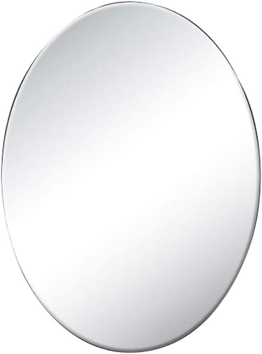 Simple Explosion-Proof Bathroom Mirror Wall Mount Makeup Mirror Contemporary Floating Glass Panel for Bathroom & Entryway