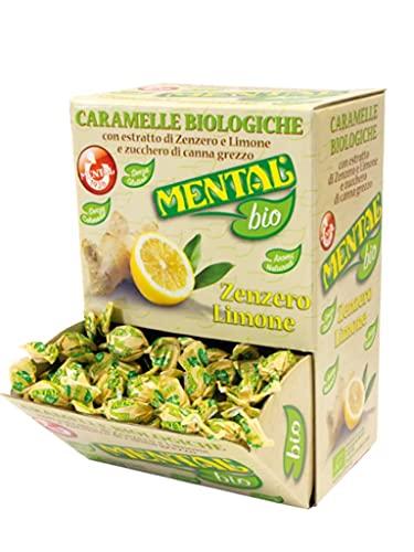 Mental Zenzero e Limone Fassi Box da 750 g 188 pezzi Caramelle BIO