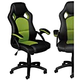 ViscoLogic Brera Gaming Racing Style Swivel Home Office Computer Desk Chair
