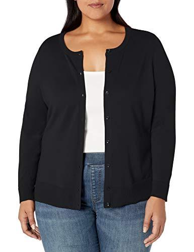 Amazon Essentials Plus Size Lightweight Crewneck Cardigan Sweater Sweaters, Cruz V2 Fresh Foam, 1X