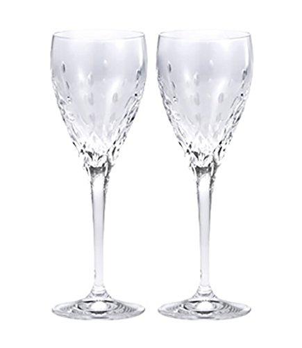 【正規輸入品】ウェッジウッド ティアドロップ ワイングラス ペア 結婚祝い プレゼント ペアグラス 1054135