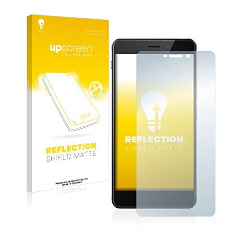 upscreen Entspiegelungs-Schutzfolie kompatibel mit TP-Link Neffos X1 Max – Anti-Reflex Bildschirmschutz-Folie Matt