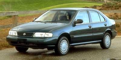 1997 Nissan Sentra 4 Door Sedan Manual Transmission