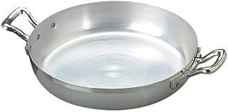 Agnelli Family Sartén 2 Asas, Diámetro 36 cm, Aluminio, Plata Clara