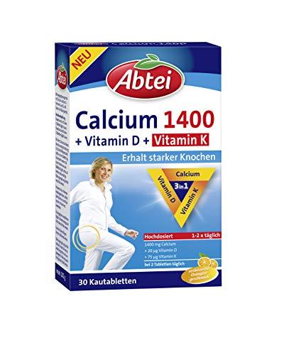Abtei Calcium 1400 Plus D& KOsteo Vital, 132 g