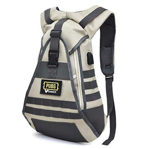 YUK PUBG Bag Level 3 Backpack Oxford Bags Adult Kids Starting Outdoor Travel Cosplay Props PLAYERUNKNOWN'S BATTLEGROUNDS Accessories (1)