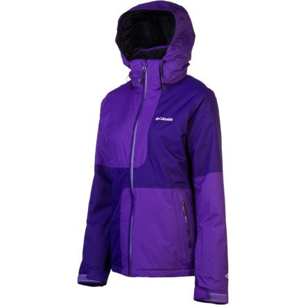 Columbia Damen Parallel Descent Jacke, Hyper Purple, XS
