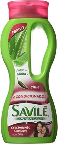 Savile Conditioner with Aloe Pulp and Chile Extract/Acondicionador Con Pulpa De Sabila Y Extracto De Chile