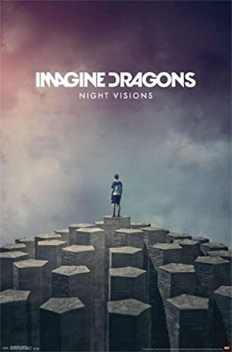 by burning desire Póster de Imagine Dragons Night Visions (30,5 x 45,7 cm)