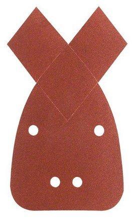 Bosch 2609256106 hojas de lija para lijadoras múltiples, K120, calidad roja