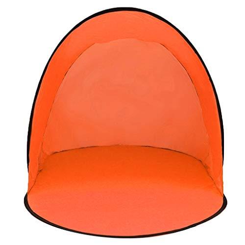 Strandmuschel, Tragbar Light Strandzelt, Automatisches Pop-Up-Schnell öffnen Zelt Outdoor-Wasserdicht- Anti-UV Zelt für 1-2 Personen Familie/Baby Sonnenschutz Einlagiges Schattenzelt 142X72X60CM (B)