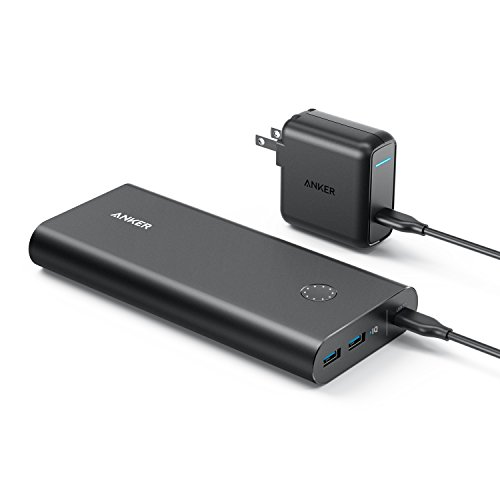 Anker PowerCore+ 26800 PD (Power Delivery対応 26800mAh モバイルバッテリー)【USB-Cポート搭載/USB-C急...