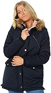 All About Eve Women's Taylor Coat Polyester Blue