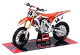 Orange Cycle Parts Die-Cast Replica Toy Red 1:12 Scale Model Cole Seely Team Honda HRC Seely Dirt Bike by NewRay 57933
