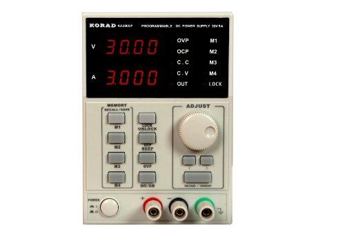 KORAD KA3005P - Programmable Adjustable 30V, 5A DC Linear Power Supply