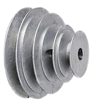 Chicago Die Casting 1416 V-groove 4-step Pulley 5/8