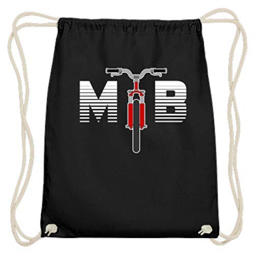 SPIRITSHIRTSHOP VTT - VTT, VTT, VTT, VTT, VTT, VTT, vélo tout-terrain, vélo, vélo, vélo de route, vélo de route, vélo - Sac de gym en coton. - Noir - Noir, 37cm-46cm