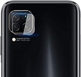 واقي عدسات كاميرا XINKOE لهاتف Huawei P40 Lite، [2 في 1] حلقة حماية لعدسة الكاميرا + غشاء واقي من الزجاج المقسى، حماية 360...