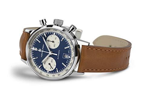 Hamilton American Classic H38416541 - Reloj automático con cronógrafo panda, para hombre