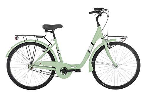 Alpina Bike Venere, Bicicletta Donna, Verde, 26'