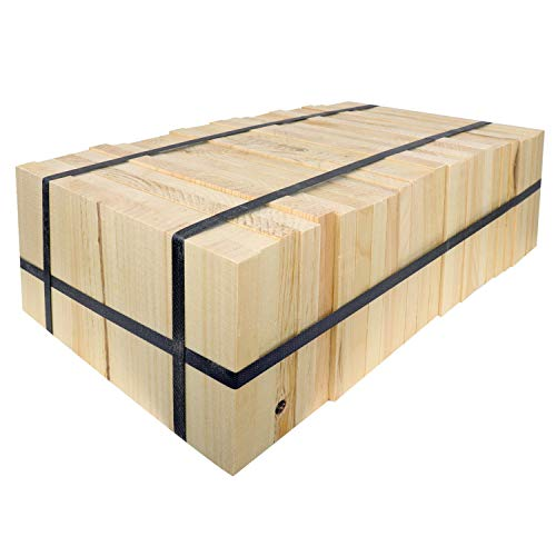 AAMA Martial Arts Taekwondo Karate Pine Wood Breaking Board Bundle - Assorted Size & Thickness (2