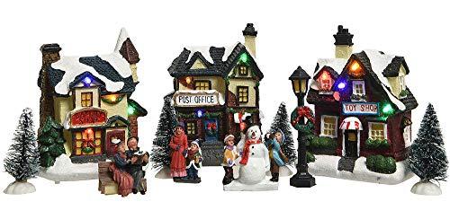 zeitzone -   Weihnachtsstadt mit