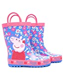 Peppa Pig Flower Girl's Wellies (7 UK Kids) Blue