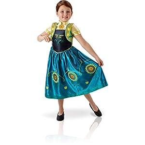 Rubies s oficial Frozen - Anna, los niños de niña - 9 - 10 años ...