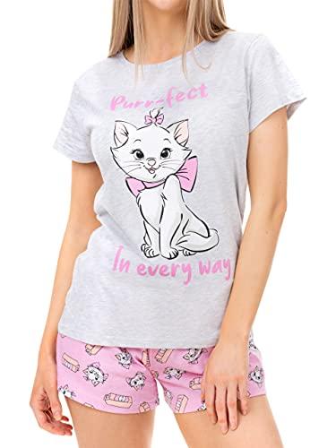 Disney Pijamas para Mujer Los Aristogatos Gris XX-Large
