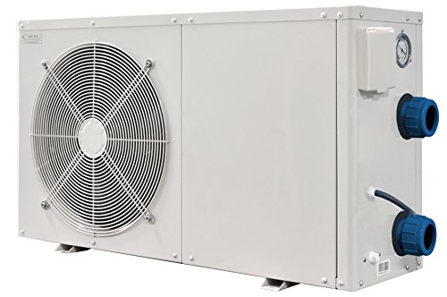 Steinbach Luft-Wärmepumpe, Waterpower 8500, Heizleistung 8,3 kW, Kühlleistung 5,8 kW, Anschluss 220 V/1,65 kW, Schalleistung dB(a) 50, Wasseranschluss Ø 50 mm, 049206