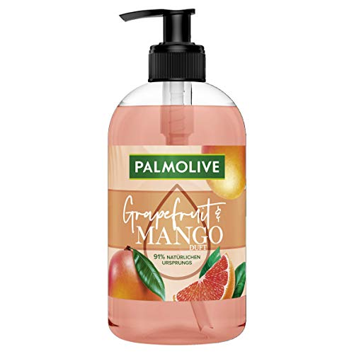 Palmolive Botanical Dreams Grapefruit & Mango Flüssigseife, 6er Pack (6 x 500 ml)