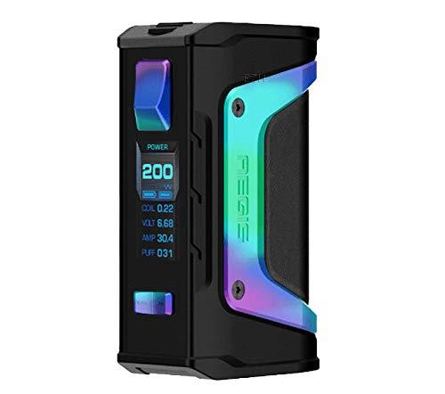 GeekVape Aegis Legende 200W TC Box MOD Neue AS Chipsatz Power von Dual Batterien e CIGS keine Batterie - kein Nikotin, keine E-Flüssigkeit (Rainbow trimmen)