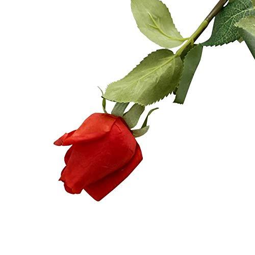 Jia HU Lot de 6 fleurs artificielles Larkspurs arrangements Maison Plante Violet Craft Mariage Home Decor bleu