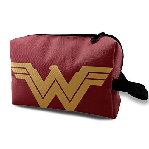 Wonder Woman Kulturbeutel Kosmetische Make-Up Veranstalter Tasche Reisezubehör Persönliche Gegenstände Für Mädchen Frauen Urlaub