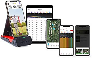 Rapsodo Mobile Launch Monitor for Golf Indoor and Outdoor Use with GPS Satellite View and Professional Level Accuracy,...