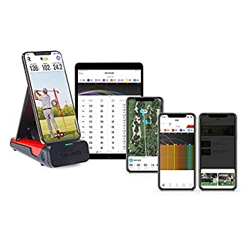 Rapsodo Mobile Launch Monitor for Golf Indoor and Outdoor Use with GPS Satellite View and Professional Level Accuracy iPhone & iPad Only