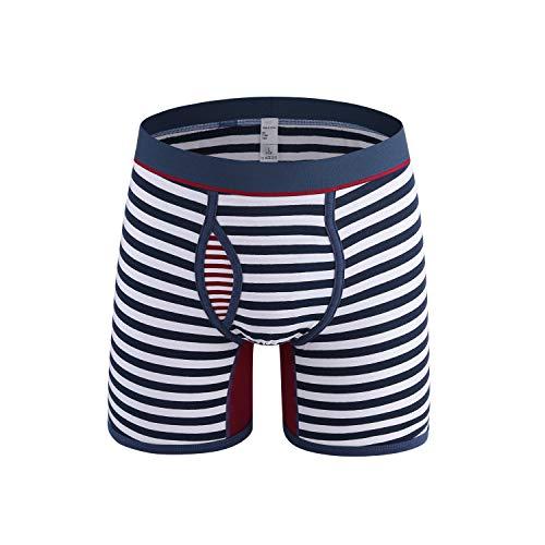 Herren Unterwäsche Andere Casual Männer Hot Fashion Striped Bunte komfortable 100% Baumwolle Unterwäsche Plus Size