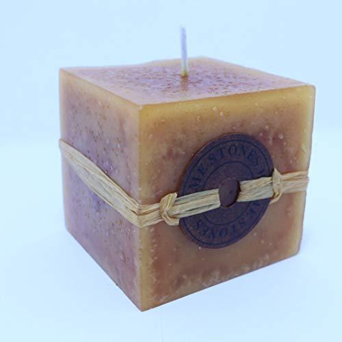 Weele Duftkerze Kaffee 291 gr, Soja-Wachs Aromatherapie-Kerze, als Geschenk und Dekoration. Romantische Kerzen. Bio-Duftkerze für zu Hause. Badezimmerkerzen für Ihre Entspannung