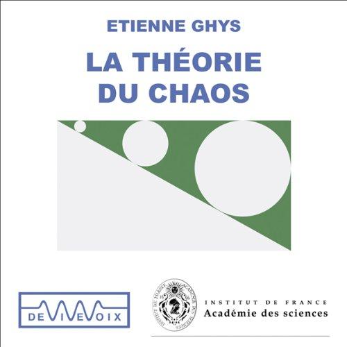 La Théorie du chaos audiobook cover art