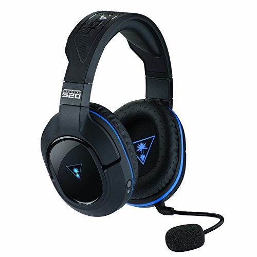 Turtle Beach Stealth 520 Cuffie di Gioco Wireless con Suono Surround DTS 7.1 - PS4 Pro/PS4/PS3