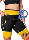 EDM - Pantalones para Adelgazar Mujer con Cuerda Saltar - Pantalones Sauna adelgazantes Mujer -...