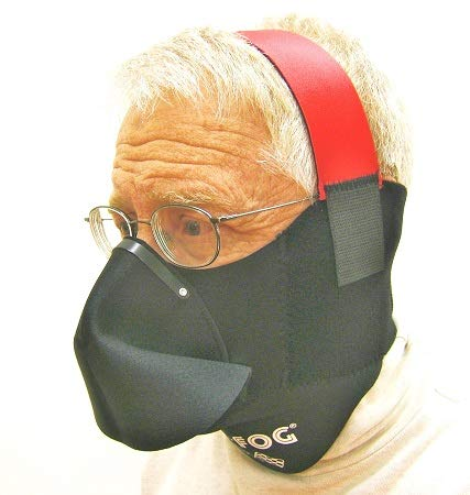 NO-FOG Mask Breath Deflector Mask #SA-NF9. Standard model.