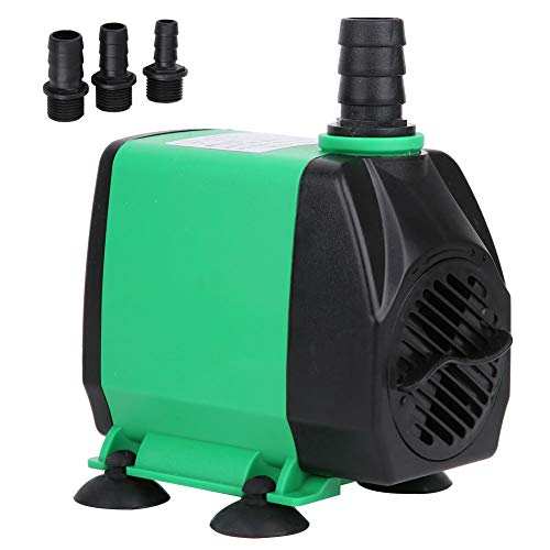 Ccylez Mini Tauchpumpe 3000L/H 55W Durable Outdoor Brunnen Wasserpumpe Springbrunnen Pumpe für Fisch Tank Wave Maker Pumpe Teich Aquarium (Grün)