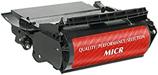 Inksters of America Remanufactured Toner Cartridge Replacement for Lexmark T620 MICR/IBM 1130 MICR 12A6860 MICR / 28P2008 MICR - 15k Pages - Black