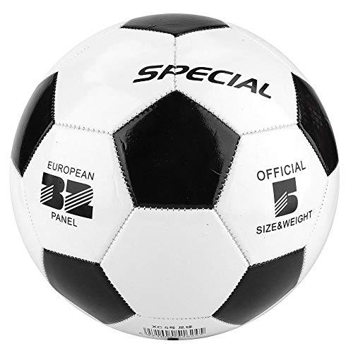 Beste PVC Fußball, Größe 5 schwarz weiß Fußball Fußbälle Student Team Training Kinder Spiel