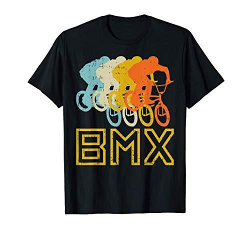 BMX Bike Retro 80s Racing Bicycle Cycling Biking Biker Gift T-Shirt
